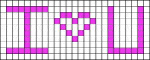 Alpha pattern #2401