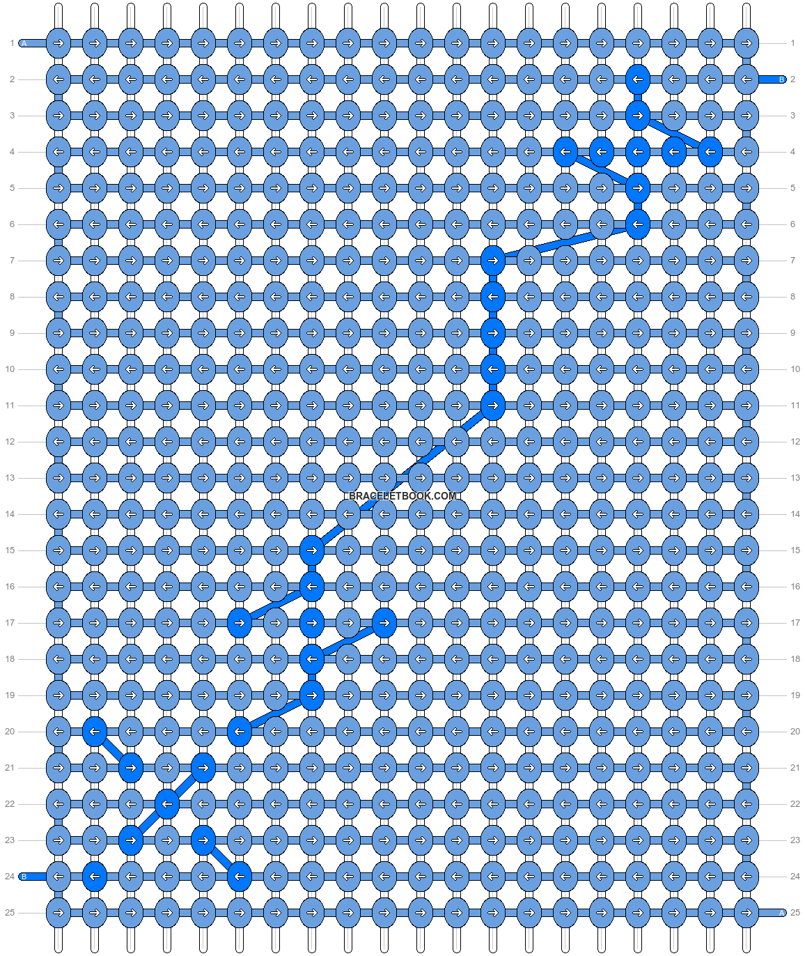 Alpha pattern #2405 pattern