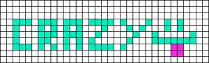 Alpha pattern #2414