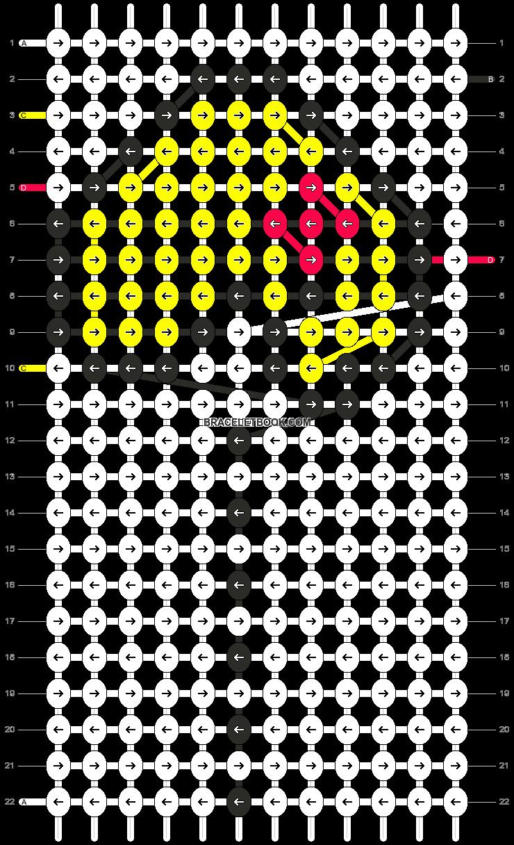 Alpha pattern #2415 pattern