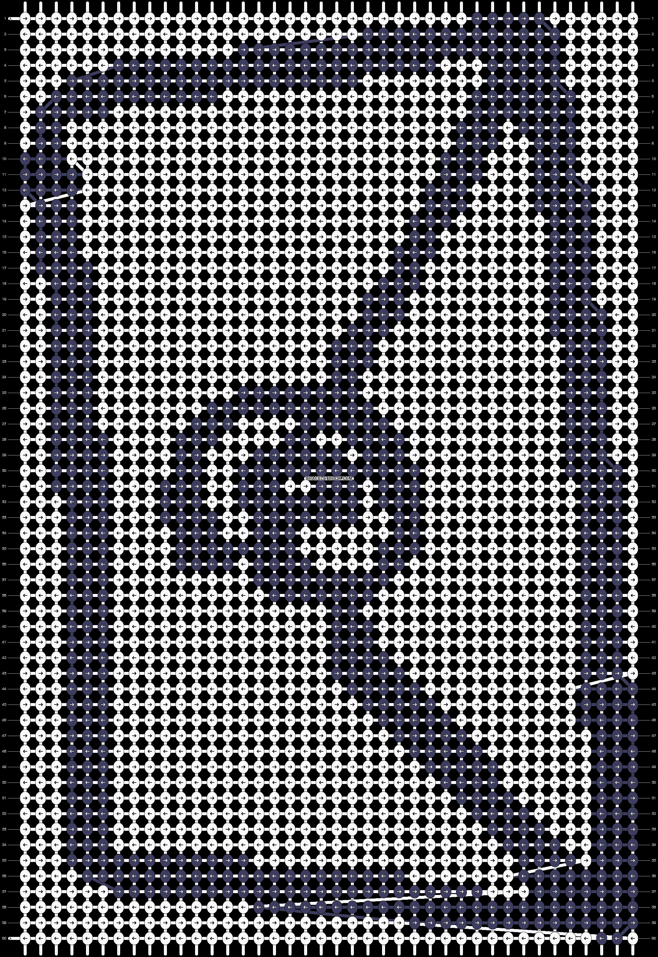 Alpha pattern #2417 pattern