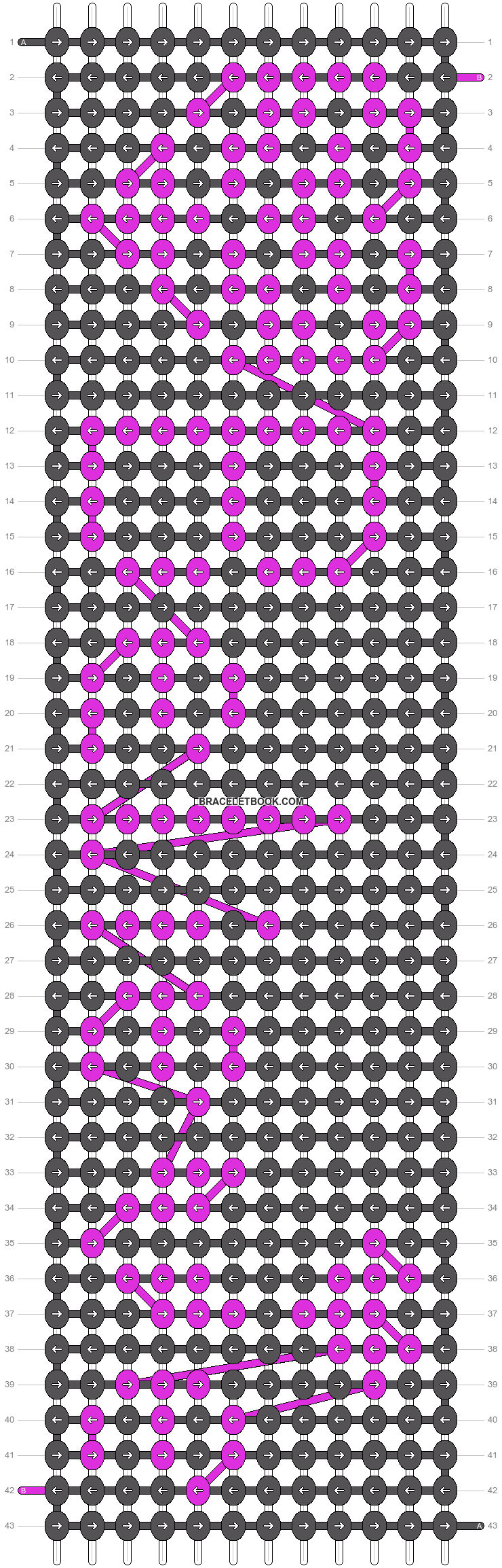 Alpha pattern #2420 pattern
