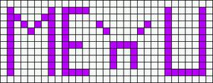 Alpha pattern #2423