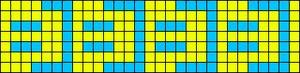 Alpha Friendship Bracelet Pattern #2433