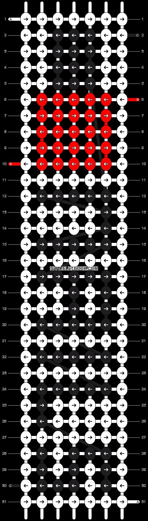 Alpha pattern #2434 pattern