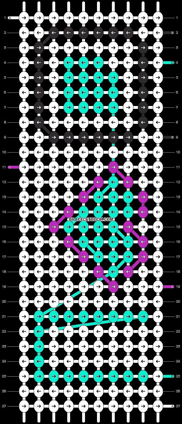 Alpha pattern #2436 pattern