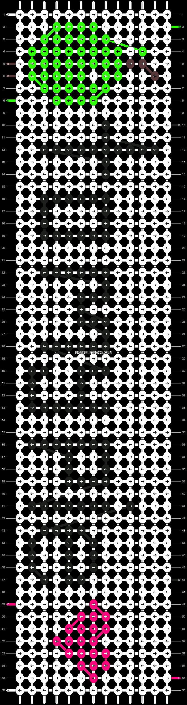 Alpha pattern #2437 pattern