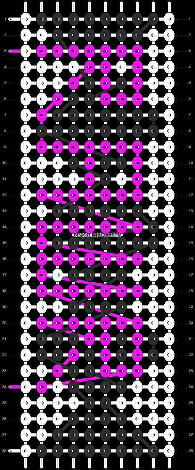 Alpha pattern #2440 pattern