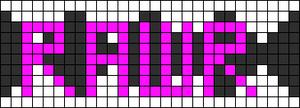 Alpha pattern #2440