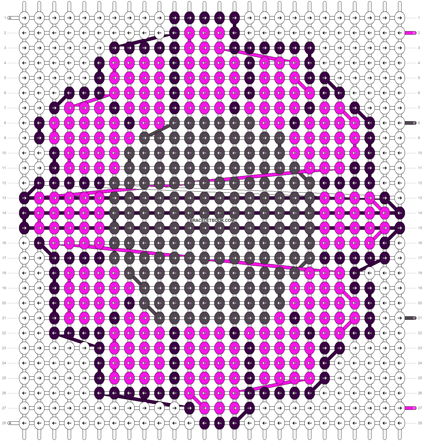 Alpha pattern #2452 pattern