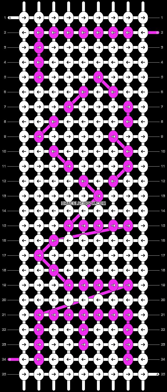 Alpha pattern #2454 pattern