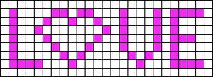 Alpha Friendship Bracelet Pattern #2454