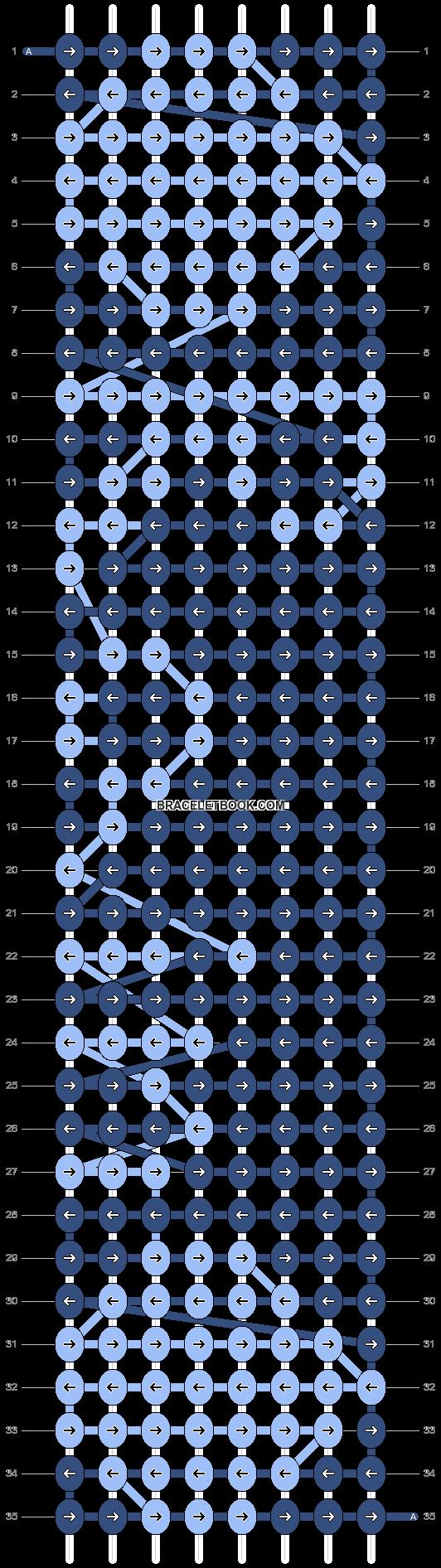Alpha pattern #2457 pattern