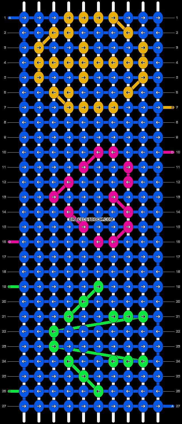 Alpha pattern #2459 pattern