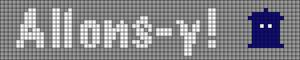Alpha Friendship Bracelet Pattern #2464
