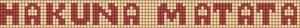 Alpha Friendship Bracelet Pattern #2471