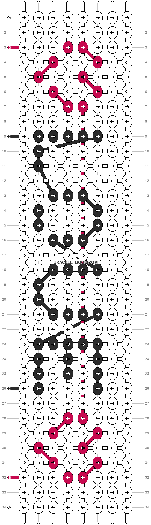 Alpha pattern #2474 pattern