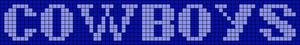 Alpha pattern #2485