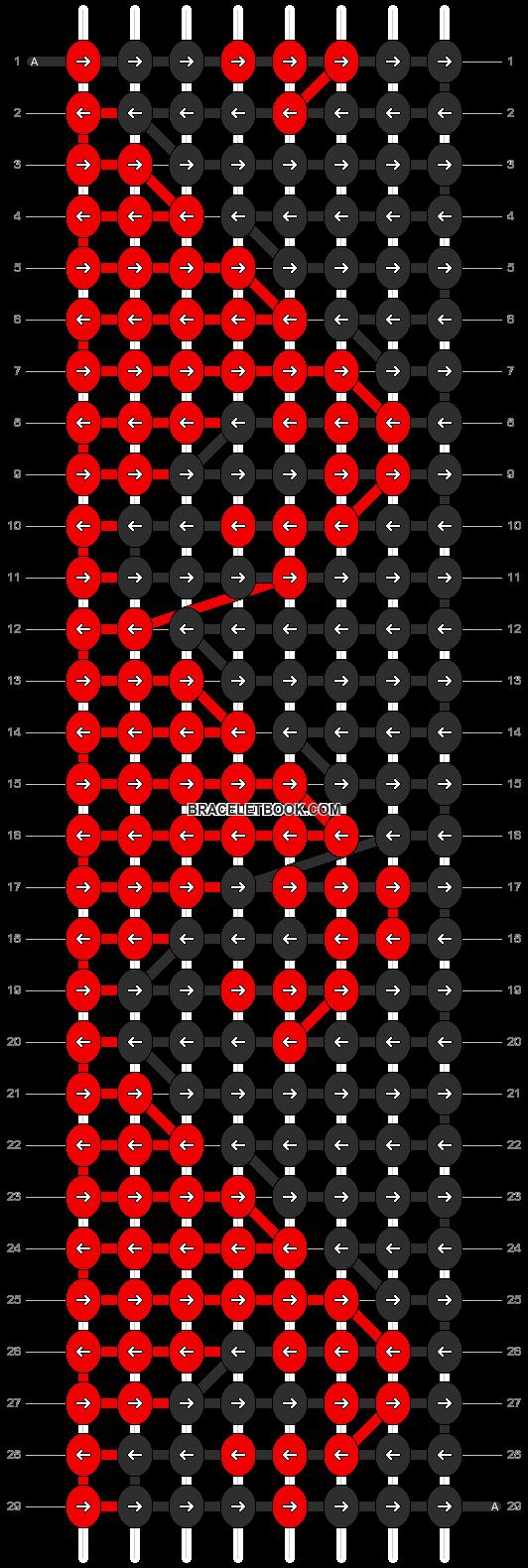 Alpha pattern #2490 pattern