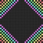Alpha Friendship Bracelet Pattern #2499
