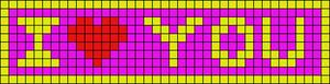 Alpha pattern #2500