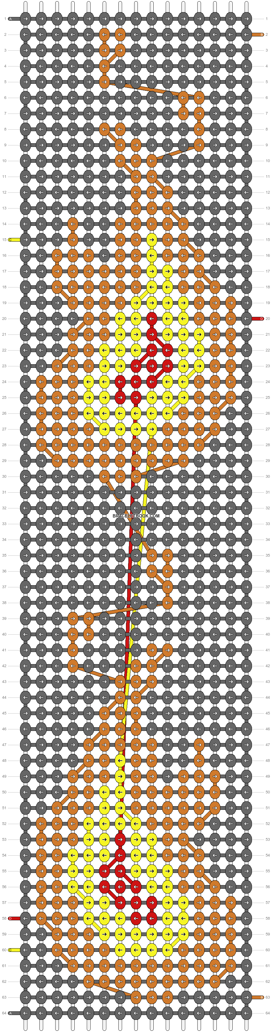 Alpha pattern #2505 pattern