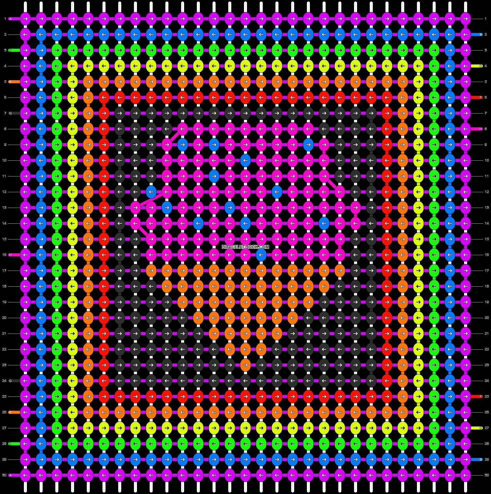 Alpha pattern #2511 pattern