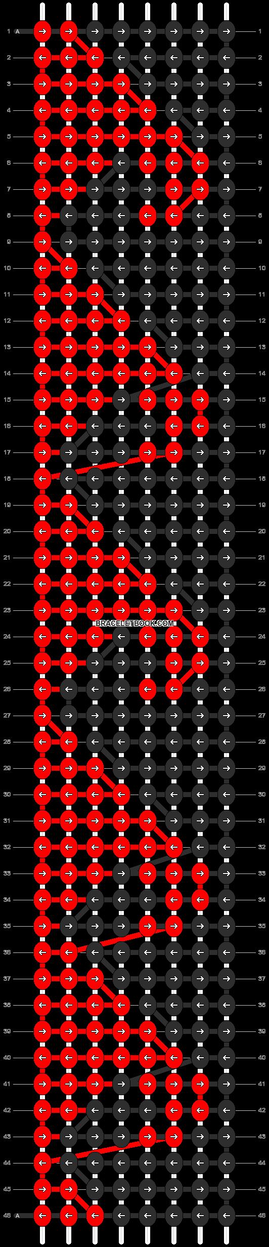 Alpha pattern #2514 pattern