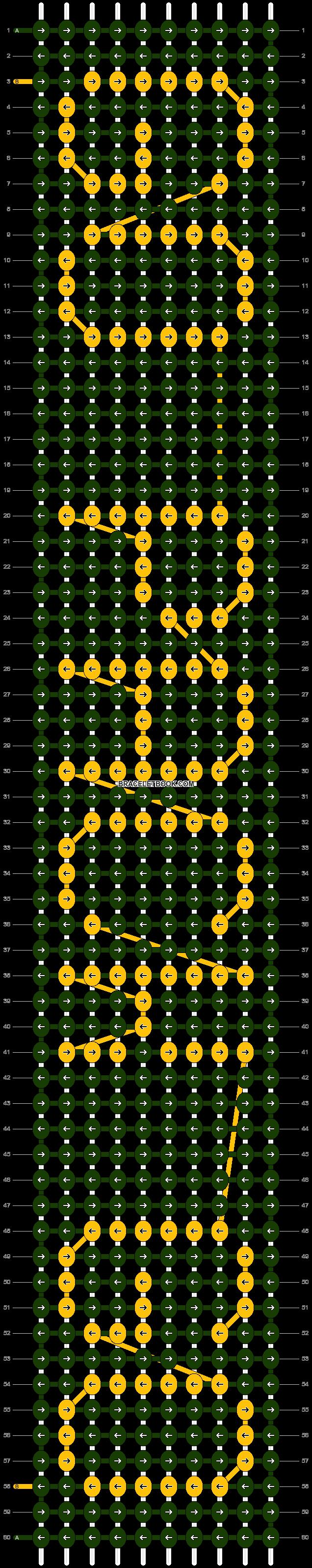 Alpha pattern #2517 pattern