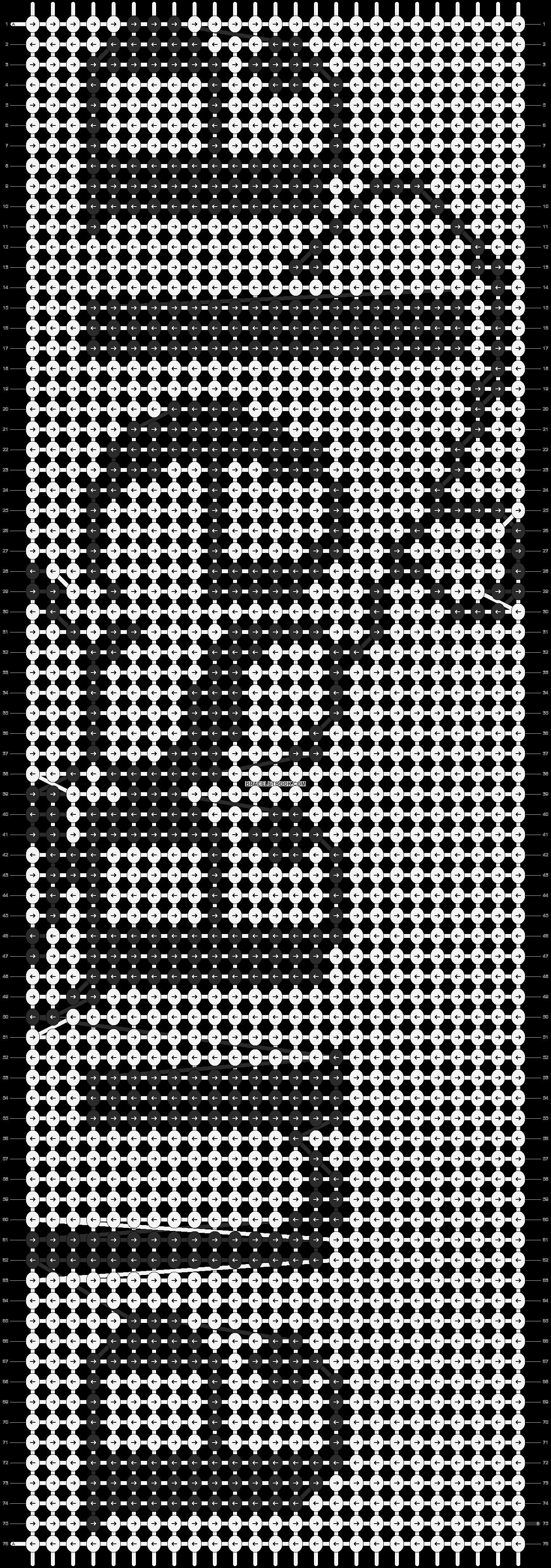 Alpha pattern #2519 pattern