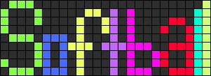 Alpha pattern #2523