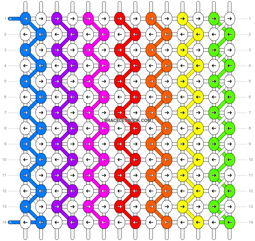 Alpha pattern #2524 pattern