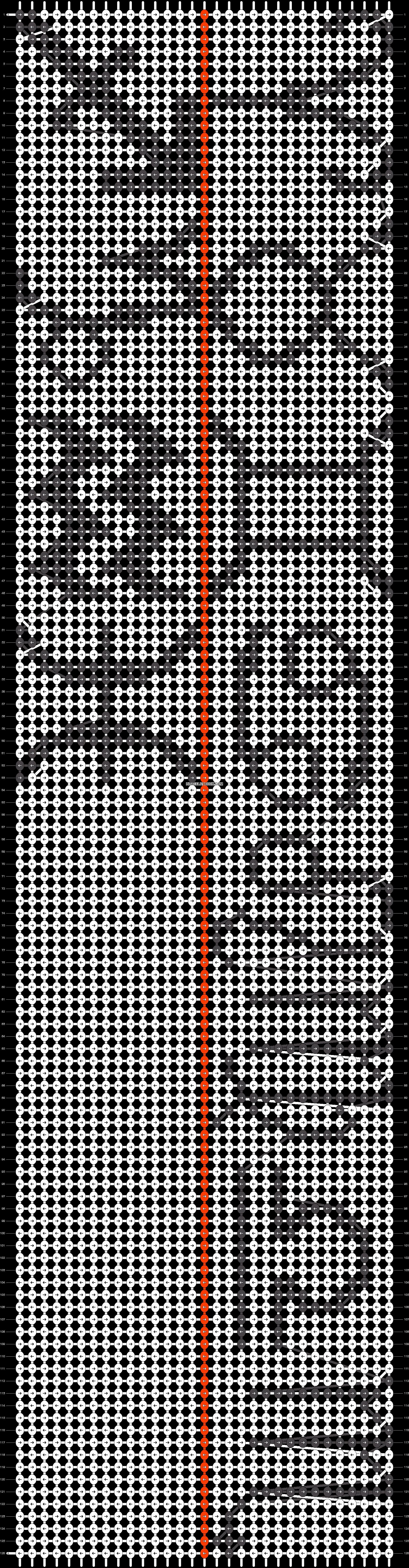 Alpha pattern #2531 pattern