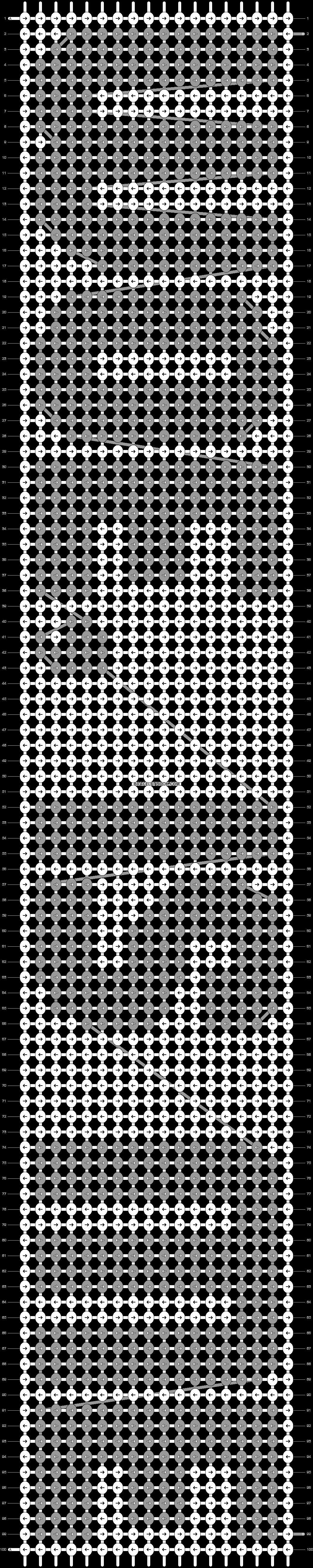Alpha pattern #2535 pattern