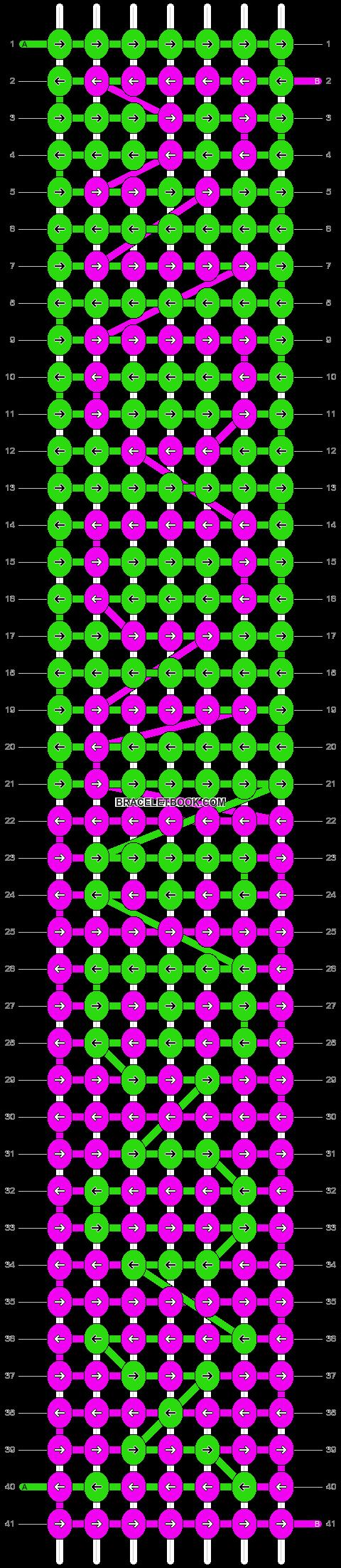 Alpha pattern #2539 pattern