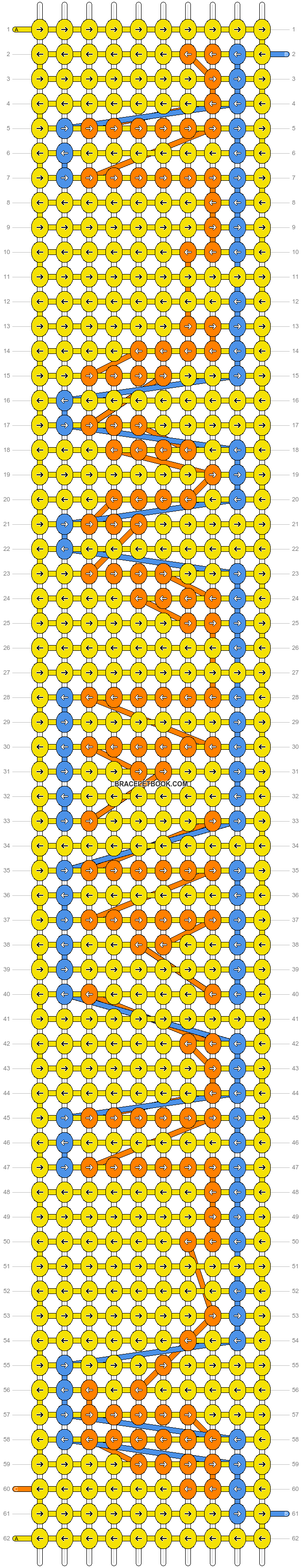 Alpha pattern #2541 pattern