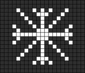 Alpha Friendship Bracelet Pattern #2543