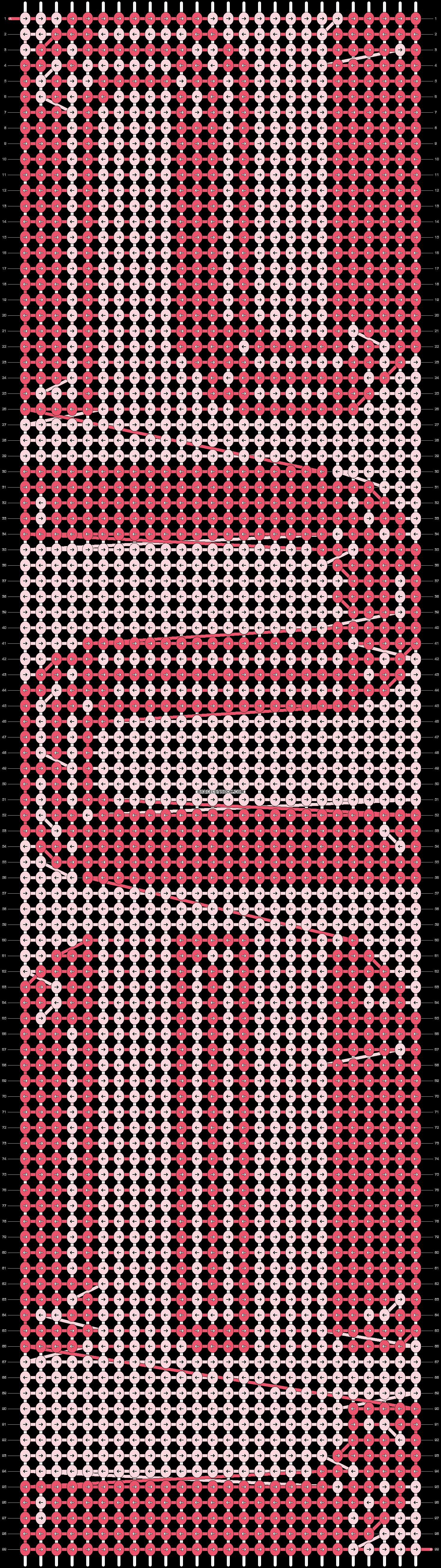 Alpha pattern #2556 pattern