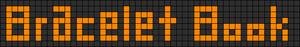 Alpha Friendship Bracelet Pattern #2572