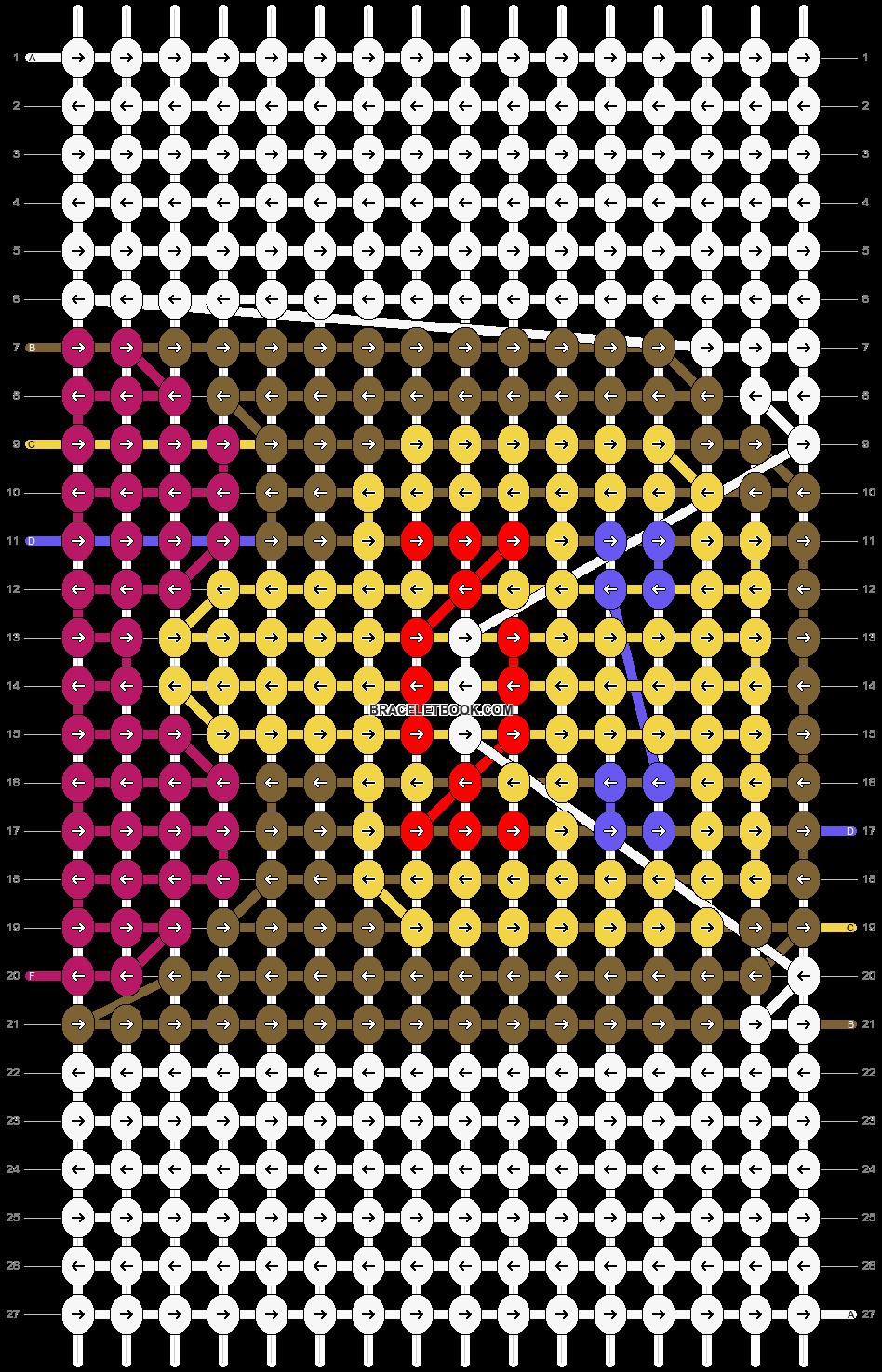 Alpha pattern #2574 pattern