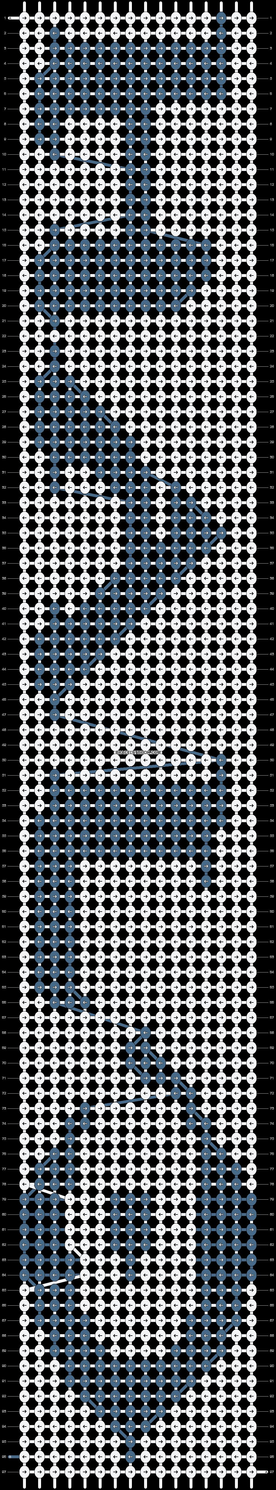 Alpha pattern #2576 pattern