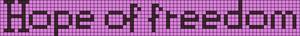 Alpha pattern #2599