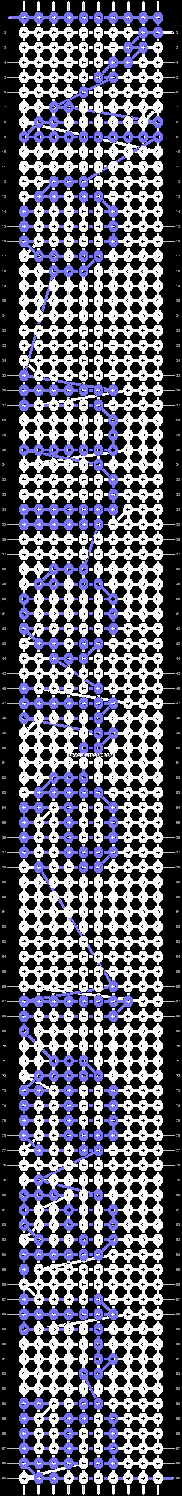 Alpha pattern #2602 pattern