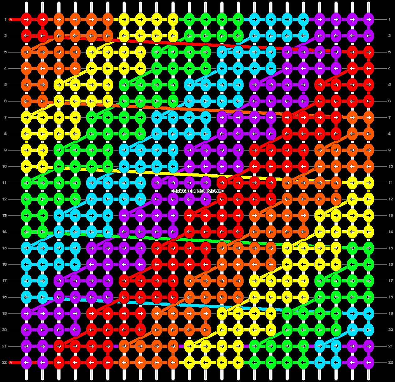 Alpha pattern #2604 pattern