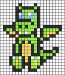 Alpha pattern #2613