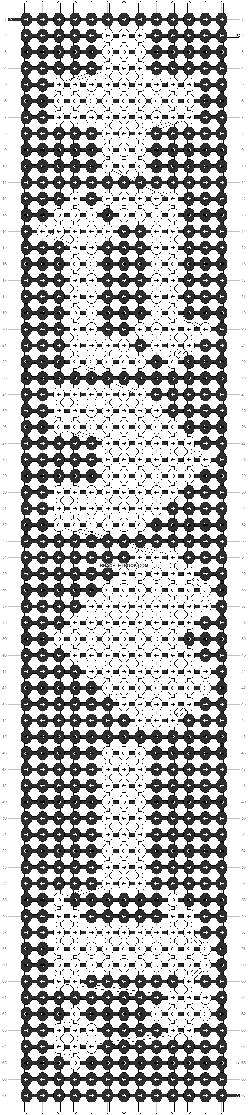 Alpha pattern #2623 pattern
