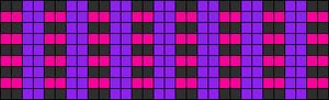 Alpha Friendship Bracelet Pattern #2628