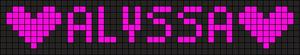 Alpha pattern #2630