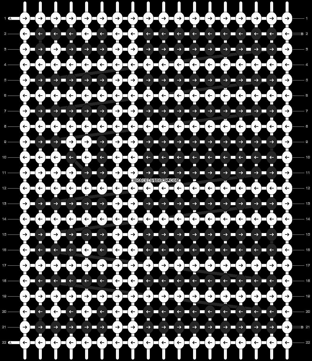 Alpha pattern #2631 pattern