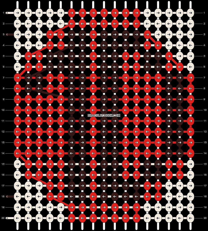 Alpha pattern #2639 pattern